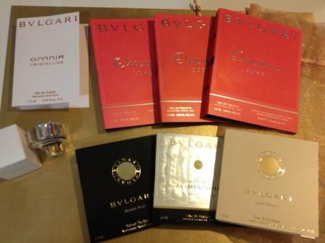 Omnia Crystalline (2), Omnia Coral (3), Jasmine Noir, Mon Jasmine Noir, BVLGARI Pour Femme
