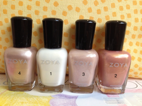 Zoya Misc. Colors