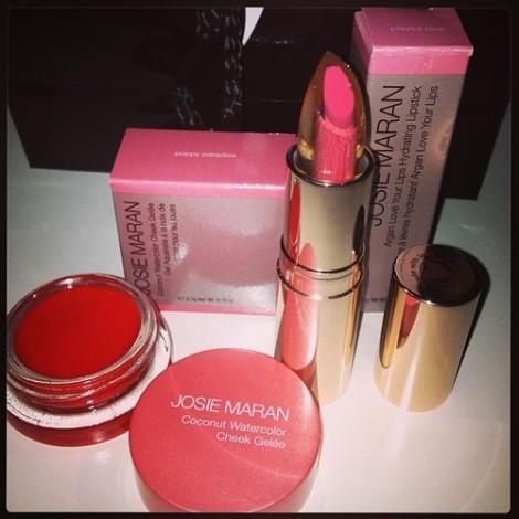 Josie Maran makeup